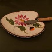 assiette et couteau